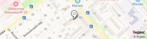 Элит-продукты на карте Ялуторовска