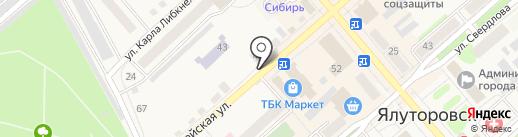 Улыбка на карте Ялуторовска