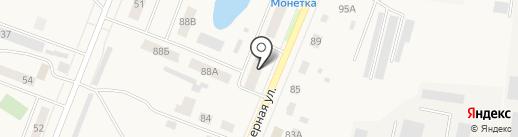 Катюша на карте Ялуторовска