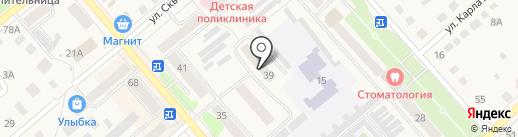Планета на карте Ялуторовска