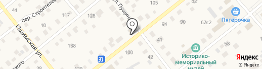 КЛЁВЫЙ на карте Ялуторовска
