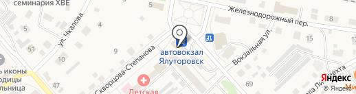 Эдем на карте Ялуторовска