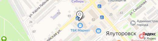 Фазенда на карте Ялуторовска