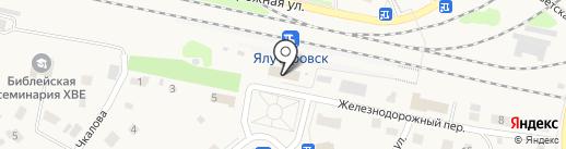 Банкомат, Банк ВТБ 24, ПАО на карте Ялуторовска