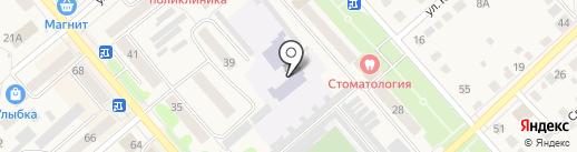 Детский сад №5 на карте Ялуторовска