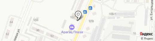 Магазин разливных напитков на карте Ялуторовска