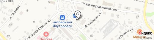 РуссКомп на карте Ялуторовска