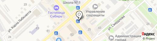Amigo на карте Ялуторовска