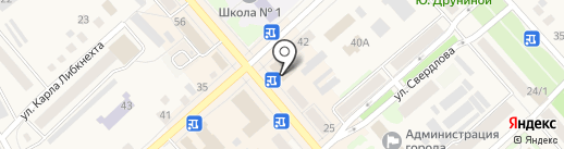 Точка РУ на карте Ялуторовска