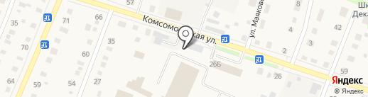 Станция технического контроля на карте Ялуторовска