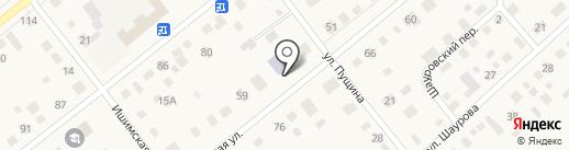 Ялуторовская православная гимназия на карте Ялуторовска