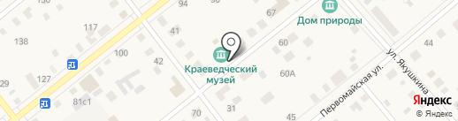 Ялуторовский музейный комплекс на карте Ялуторовска
