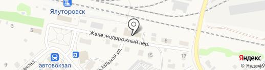 Баня-сауна на карте Ялуторовска