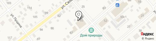 Киоск по изготовлению ключей на карте Ялуторовска