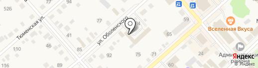 Еврокраски на карте Ялуторовска