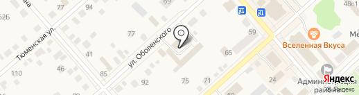 Бар-бильярдная на карте Ялуторовска