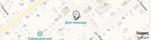 Дом природы на карте Ялуторовска