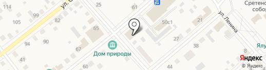 Ялуторовская типография на карте Ялуторовска