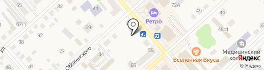 Распродажа на карте Ялуторовска