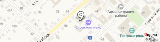 Молодежка на карте Ялуторовска