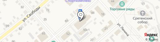 Знатный пекарь на карте Ялуторовска