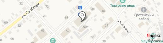 Для девочек и мальчиков на карте Ялуторовска