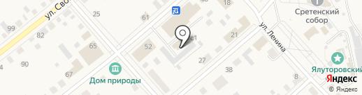 Дачник на карте Ялуторовска