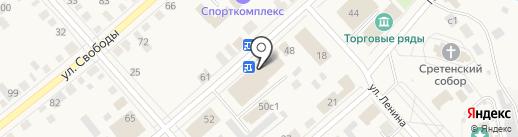 Pattern на карте Ялуторовска