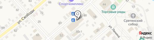Сельский дворик на карте Ялуторовска