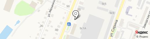 Почтовое отделение №3 на карте Ялуторовска