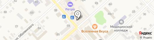Связной на карте Ялуторовска