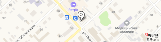 Банкомат, Газпромбанк на карте Ялуторовска