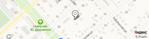 Ялуторовская межрайонная прокуратура на карте Ялуторовска