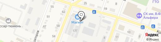 Магнит на карте Ялуторовска
