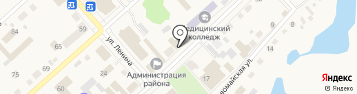 Отдел военного комиссариата Тюменской области по г. Ялуторовск и Ялуторовскому району на карте Ялуторовска