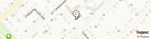 Ялуторовская районная общественная организация Всероссийского общества инвалидов на карте Ялуторовска