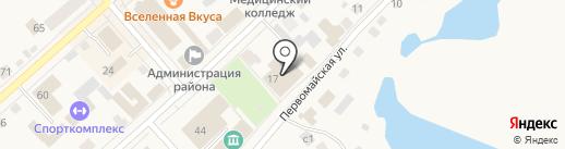 Теплый дом на карте Ялуторовска