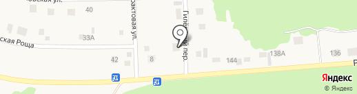 Шиномонтажная мастерская в Гилёвском переулке на карте Заводоуковска