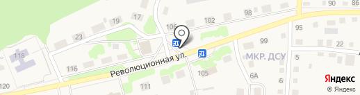 Магазин по продаже фруктов и овощей на ул. Революционная на карте Заводоуковска