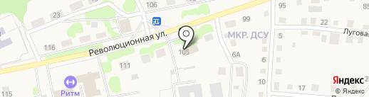 Управление Федеральной службы государственной регистрации, кадастра и картографии по Тюменской области на карте Заводоуковска