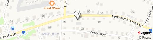 Квартал на карте Заводоуковска