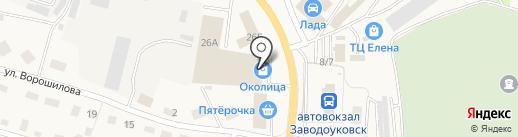 КлЁвый на карте Заводоуковска