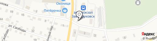 МегаФон на карте Заводоуковска