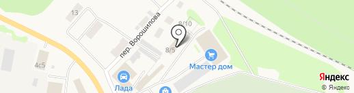 Магазин молочной продукции на карте Заводоуковска