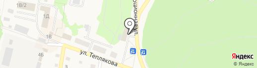 Магазин хозяйственных товаров на карте Заводоуковска