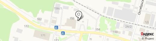 Автомойка на Шоссейной на карте Заводоуковска