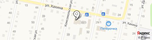 Центральный на карте Заводоуковска