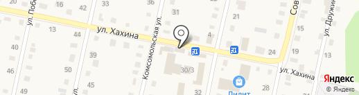 Магазин мебельной фурнитуры на карте Заводоуковска