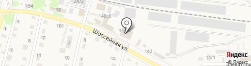 Магазин мебели на Шоссейной на карте Заводоуковска