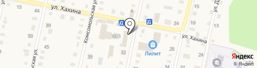 Колобок на карте Заводоуковска
